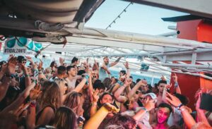 Tidal Zante boat party Party time