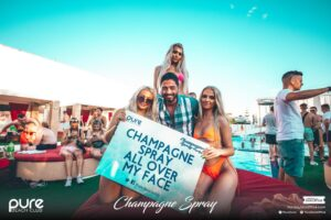 Pure Champagne Spray Naughty Sign Pure Zante