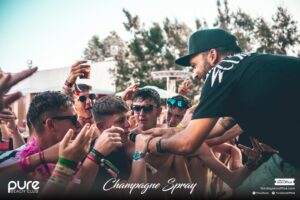 Pure Champagne Spray DJ Dre