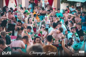 Pure Champagne Spray Explosion