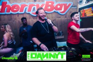 Danny T on the Mic at CherryBay Zante