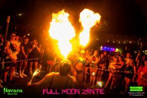 Full Moon Fire Show Zante