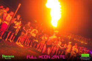 Fire Breather Full Moon Zante