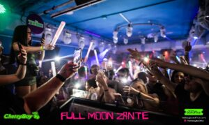 Cameras Out Full Moon Party Zante